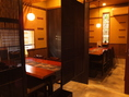 【テーブル個室】4名様/4名様/6名様用のテーブル席になります。会社宴会・ご家族でのお食事にどうぞ…