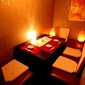 少人数用のテーブル個室★炙り焼き&個室居酒屋 茂蔵 新宿東口店★