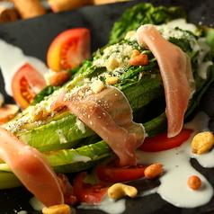 料理メニュー写真●サラダ・ロースト・ロメインレタス