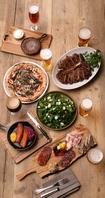 多彩なビールと料理のおどろきのマッチングを!
