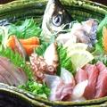 料理メニュー写真鮮魚刺身盛(三種/五種)