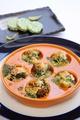 料理メニュー写真つぶ貝エスカルゴ風