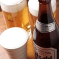 当店の生ビールは静岡限定サッポロビールの「静岡麦酒」です。よく冷えた1杯をどうぞ♪