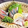料理メニュー写真照名物!五島直送。白のゴマサバ