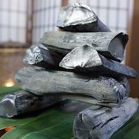 【最高級炭】紀州備長炭を使用