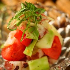料理メニュー写真●金沢産加賀野菜とタコの自家製マリネ
