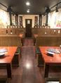 3階席2名様から25名まで入り、宴会シーズンになれば、一ヶ月先から予約が入っております。