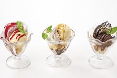 料理メニュー写真アイス チョコレート&バニラ