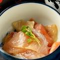 料理メニュー写真あっさり鮮魚の漬け