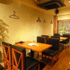 【2F】4名様テーブル席、完全個室使いOKの貸切は20名~最大24名様まで