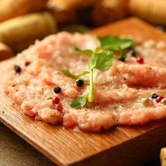 料理メニュー写真●マグロすき身カルパッチョ