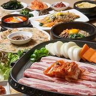 道産×韓国産食材使用!手作り韓国家庭料理を堪能!
