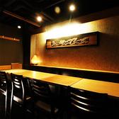 テーブル席でのご宴会は最大70名様まで可能!人数に応じたお席をご用意させていただきます。(新橋/個室/居酒屋)