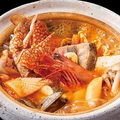 海鮮辛味噌鍋(1人前)