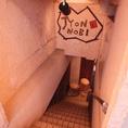 階段を降りると…JYONNOBIがあります♪