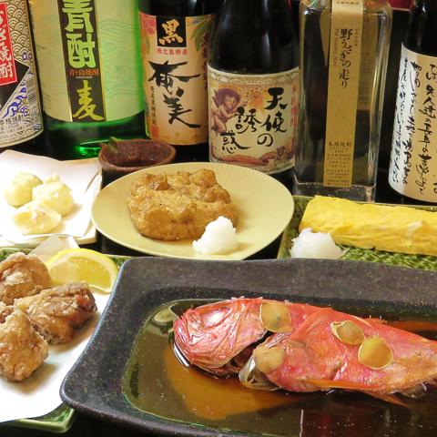 こだわりの日本酒と肴を堪能♪
