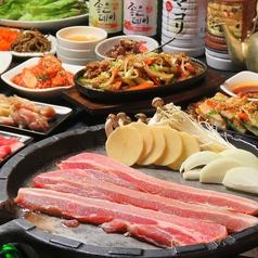 韓国食堂 ハヌル オンマのコース写真