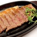 料理メニュー写真特撰和牛ステーキ