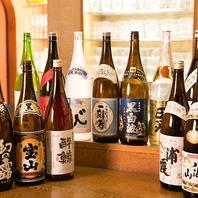 千葉店ではこだわりの日本酒を豊富にご用意しております