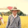 契約農家の片桐さん。当店のお米は、濃尾平野の大地で育った健康的な岐阜ハツシモを使用しています。