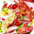 料理メニュー写真オマール海老を贅沢に4種のテイストで…