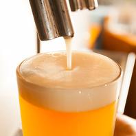 厳選の樽生クラフトビール♪