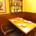 会社帰りの一杯や仲間内との飲み会にも最適なテーブル席!【橋本/居酒屋/飲み放題】