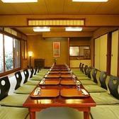 鍋料理45名様、懐石料理40名様(会席膳をご利用の場合30名様)までご利用いただける宴会場です。