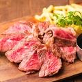 料理メニュー写真プライムビーフ チャックフラップステーキ ~ざぶとん~