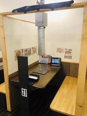 当店は一人焼肉大歓迎です!人目が気になる方へ。※写真は札幌麻生店です。