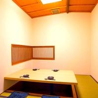 落ち着いた雰囲気の掘りごたつ個室♪