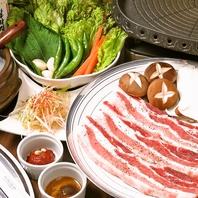 本場の韓国料理が楽しめる!サムギョプサルは食べ放題♪