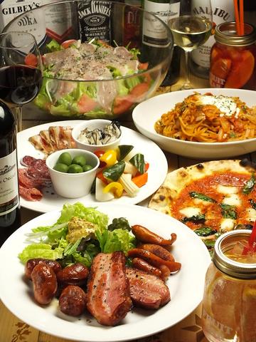 イタリアンで女子会♪美味しいピザとワイン!クーポンで誕生日プレートもついてくる♪