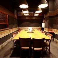 各種ご宴会にテーブル個室は16名様まで対応♪