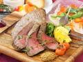 料理メニュー写真★神戸但馬牛の鉄板ステーキ