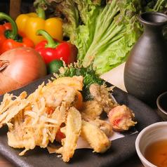 季節のお野菜の天ぷら