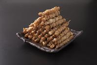 博多とりかわ巻串!味は5種類!