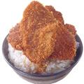 料理メニュー写真特製かつ丼(六枚)