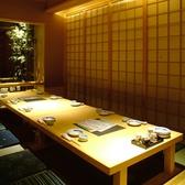 静かなお席はもちろん掘りごたつ 。接待や大切な会食に御利用下さい。