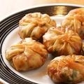 料理メニュー写真上海焼き餅(にら饅頭) 1人前6個