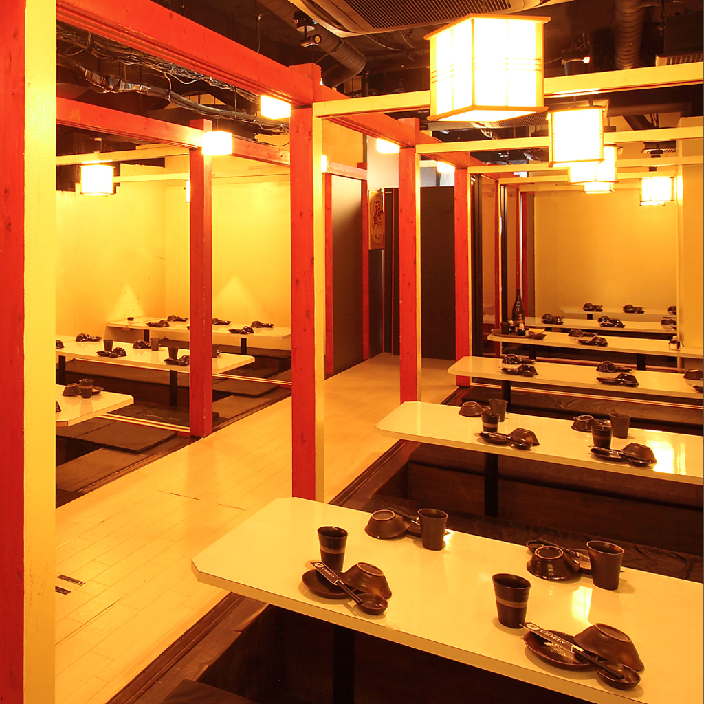 完全個室 牡蠣料理ともつ鍋が旨い居酒屋うみきん‐UMIKIN‐ 渋谷店|店舗イメージ3