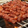 料理メニュー写真ヤンコチ(羊肉ロースの串焼き)| 韓国アイドルグループで話題のメニュー