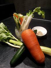 料理メニュー写真スティックサラダ みそ・マヨ