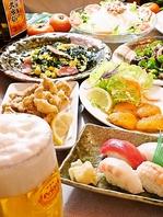 宴会やご家族でのご利用にも食べ飲み放題コースをどうぞ