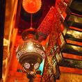 階段を上り、アラブの宮殿へ・・