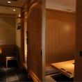 個室は全部で7部屋ご用意しております