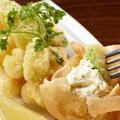料理メニュー写真海老とアボカドの米粉揚げ