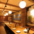 個室席は最大22名様まで収容可能☆会社宴会、各種宴会に最適です◎
