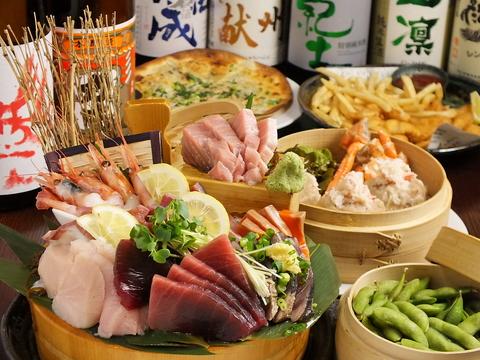 北戸田 居酒屋 飲み会 海鮮 宴会