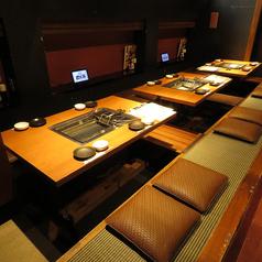 4名~★12名様なら半個席になります。少人数での歓迎会や送別会などの会社宴会・飲み会におすすめ!
